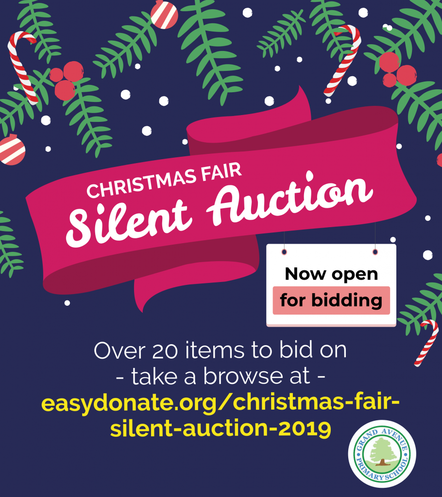 Christmas Fair silent auction